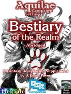 Aquilae: Bestiary of the Realm Abridged (OSR)