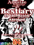Aquilae: Bestiary of the Realm Abridged (DCC/Dungeon Crawl Classics)