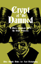 Crypt of the Damned: A Micro Chapbook RPG