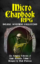 Micro Chapbook RPG Deluxe Scenario Collection 1