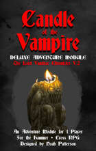 Candle of the Vampire: The Lord VanDrac Chronicles V.2