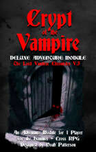 Crypt of the Vampire: The Lord VanDrac Chronicles V.3