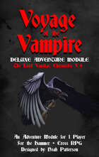 Voyage of the Vampire: The Lord VanDrac Chronicles V.4