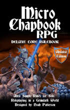 Micro Chapbook RPG: Updated Edition