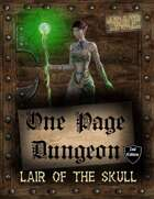 One Page Dungeon: Lair of the Skull