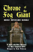 Throne of the Fog Giant