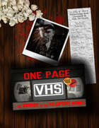 One Page VHS: The Horror in the Valentine Mines