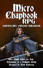 Micro Chapbook RPG: Quickstart Edition