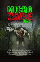 Micro Zombie RPG: Quickstart Edition