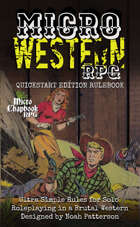 Micro Western RPG: Quickstart Edition