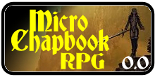 Micro Chapbook RPG 0.0