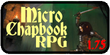 Micro Chapbook RPG 1.75