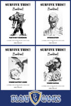 SURVIVE THIS!! - Zombies!  COLLECTED EDITION - PRINT