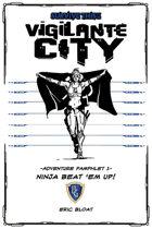SURVIVE THIS!! Vigilante City - Adventure Pamphlet 1 - Ninja Beat 'em up!