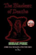 The Blackest of Deaths - Dire Old School Fantasy RPG - KS Sneak Peek