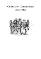 Character Connections Generator