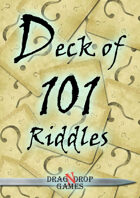 Deck of 101 Riddles