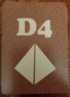D4 Dice Deck