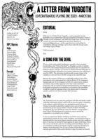 A Letter from Yuggoth Issue 1