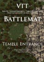 VTT Battlemap - Temple Entrance Map