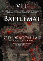 VTT Battlemap - Red Dragon Lair