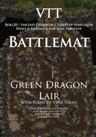 VTT Battlemap - Green Dragon Lair