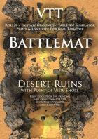 VTT Battlemap - Desert Ruins