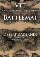 VTT Battlemap - Desert Badlands