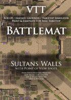 VTT Battlemap - Sultans Walls