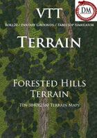 VTT Terrain - Forested Hills Terrain