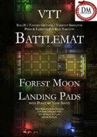 VTT Battlemap -  Forest Moon Landing Pads
