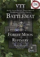 VTT Battlemap -  Forest Moon Refinery
