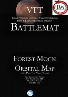 VTT Battlemap -  Forest Moon Orbital Map