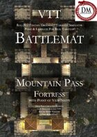 VTT Battlemap - Mountain Pass Fortress