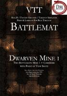 VTT Battlemap - Dwarven Mine I