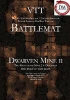 VTT Battlemap - Dwarven Mine II