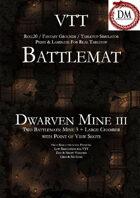VTT Battlemap - Dwarven Mine III