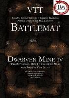 VTT Battlemap - Dwarven Mine IV