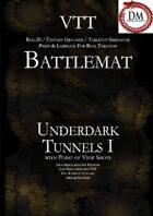 VTT Battlemap - Underdark Tunnels I