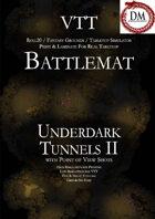 VTT Battlemap - Underdark Tunnels II