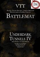 VTT Battlemap - Underdark Tunnels IV