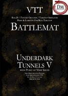 VTT Battlemap - Underdark Tunnels V