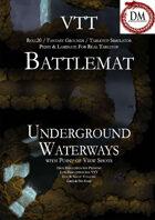 VTT Battlemap - Underground Waterways