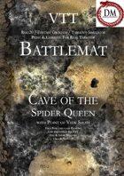 VTT Battlemap - Cave of the Spider Queen