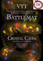 VTT Battlemap - Crystal Caves