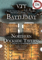 VTT Battlemap - Northern Dockside Taverns