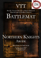VTT Battlemap - Four Level Northern Knights Abode (Must Have!!)