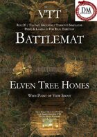 VTT Battlemap - Elven Tree Homes