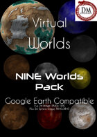 9 Worlds (Google Earth Compatable) Bundle [BUNDLE]