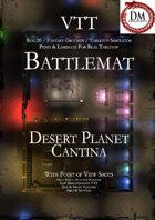 VTT Battlemap -  Desert Planet Cantina
